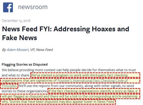 Facebook Fact Checking Service Gefinancierd door George Soros