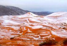 Global Warming: Sahara Bedekt Met Sneeuw Sinds 37 Jaar