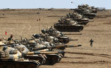 Turkije valt Syrië binnen om Bashar al-Assad te Verwijderen